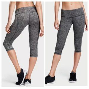 VSX SPORT Knockout Marl Gray Crop Workout Small